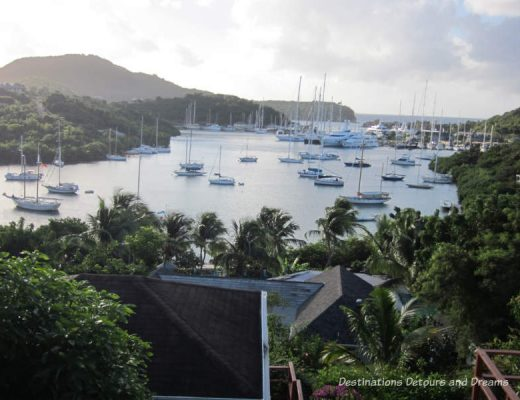Ahoy, English Harbour in Antigua: marina,history and beaches