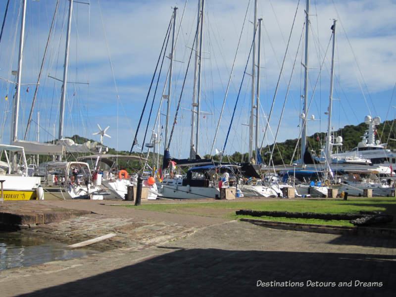 English Harbour, Antigua- Nelson's Dockyard Marina