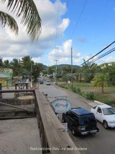 Main road, English Harbour, Antigua