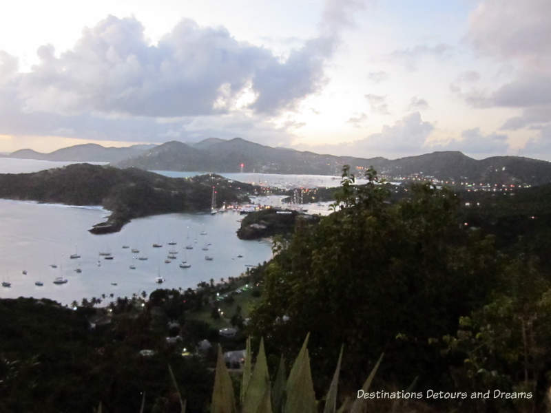 View from Shirley Heights - English Harbour, Antigua