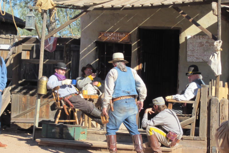 Gunfighters at Goldfield Ghost Town