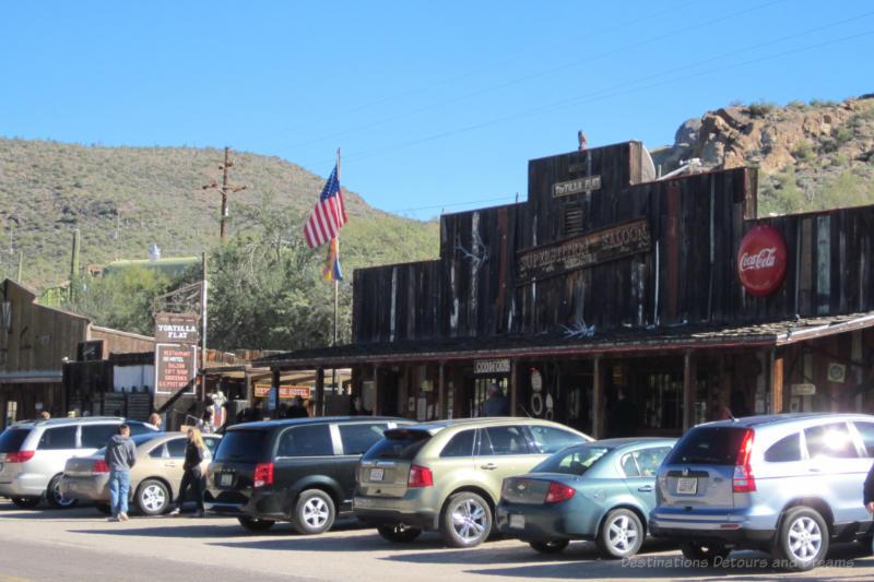 Tortilla Flat saloon