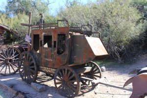 Old Stage Coach at Tortilla Flat
