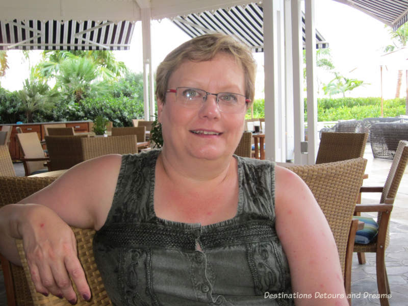 Donna Janke in Nevis