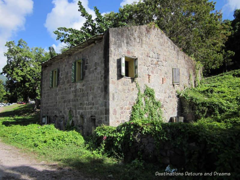 Spring House, Nevis, no longer operational