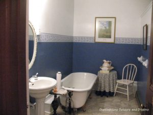 One of the Palace Hotels's bathrooms, Port Townsend, Washington