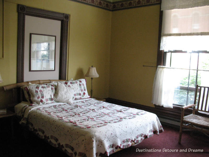 One of the Palace Hotel's bedrooms, Port Townsend, Washington