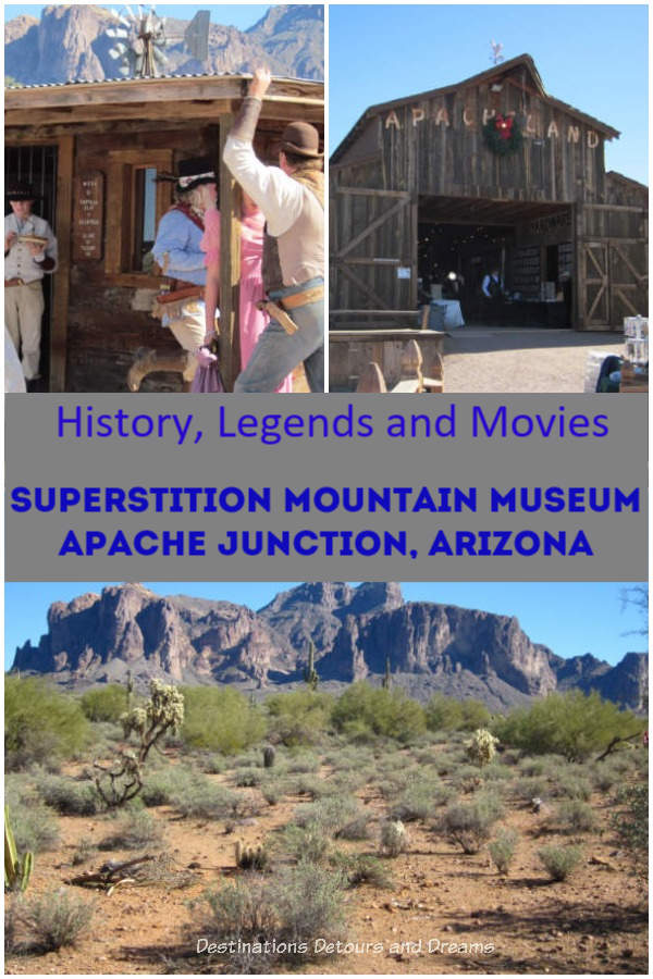 History,legends and movies at Superstition Mountain Museum in Apache Junction, Arizona #Arizona #museum #Phoenix #mining #legends