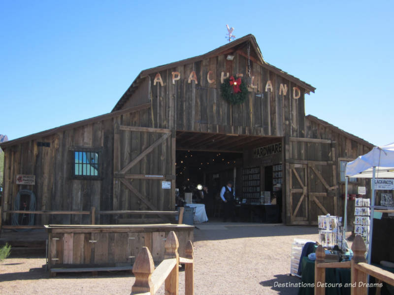 Apacheland Barn at Superstition Mountain Museum