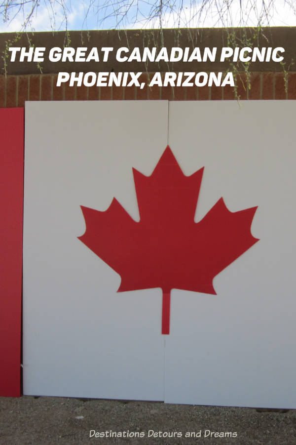 The Great Canadian Picnic in Phoenix, Arizona #picnic #Phoenix #Arizona #Canadianpicnic #snowbird