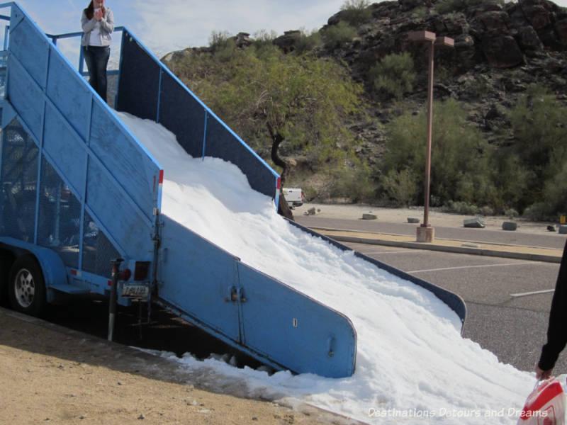 Toboggan slide at The Great Canadian Picnic