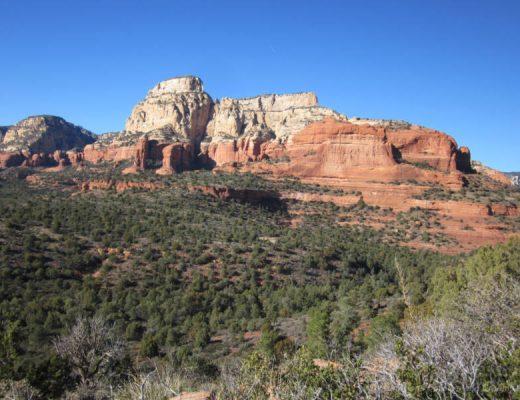 The Red Mountains of Sedona, Arizona