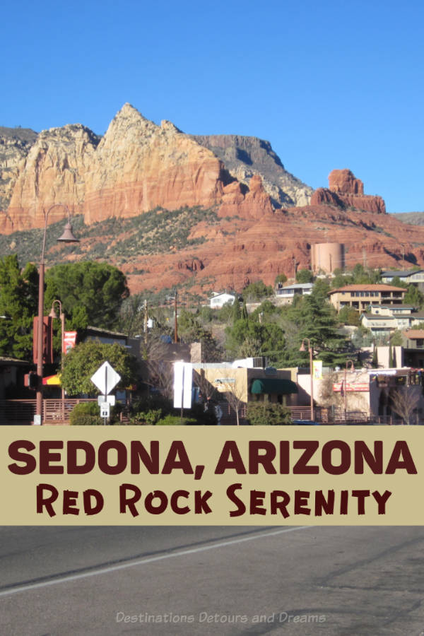 The red rock serenity of Sedona, Arizona - beautiful scenery, vortexes, art, fun shops. #Arizona #Sedona #vortex