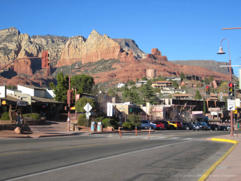 Old Town. Sedona, Arizona