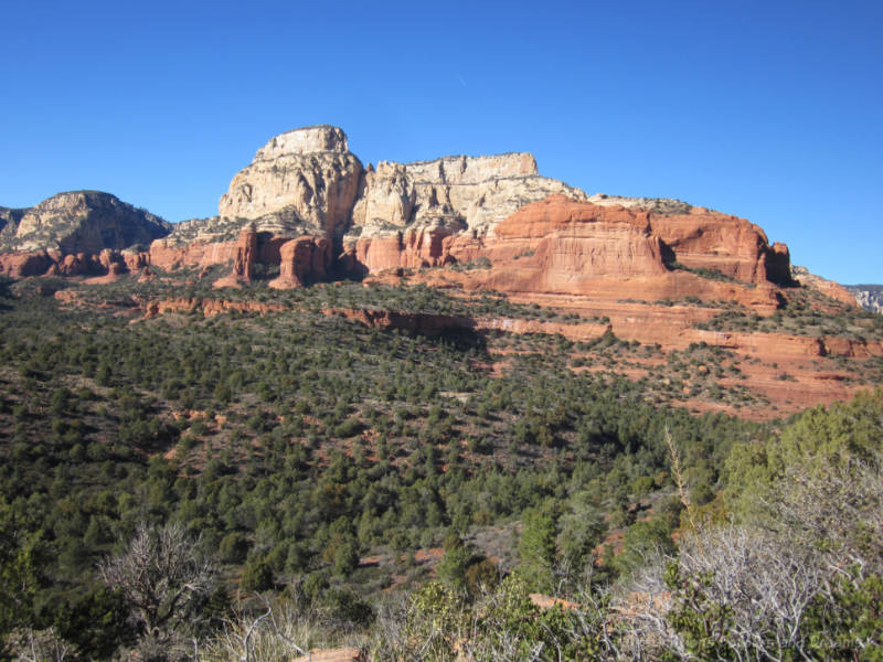 The Red Mountains of Sedona, Arizona