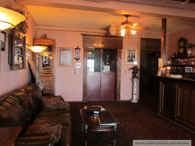 Lobby of Grand Hotel, Jerome, Arizona