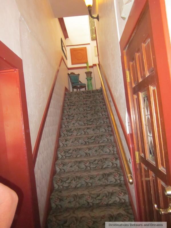 Connor Hotel stairway