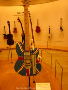 guitars at the Musical Instrument Museum