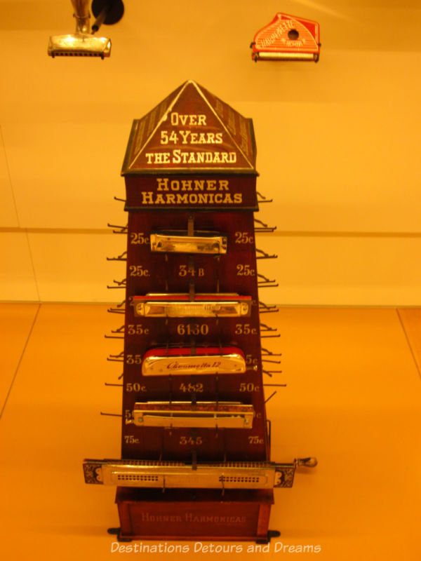 Harmonica at the Musical Instrument Museum