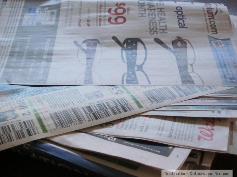 newspaper flyers