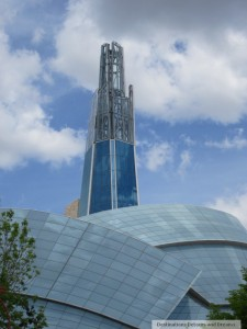Canadian Museum for Human Rights Cloud and Tower of Hope