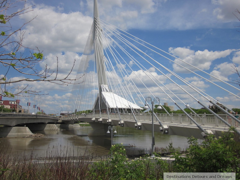 Provencher Bridge, Winnipeg, Manitoba