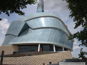 "Canadian Museum for Human Rights ""Roots"""