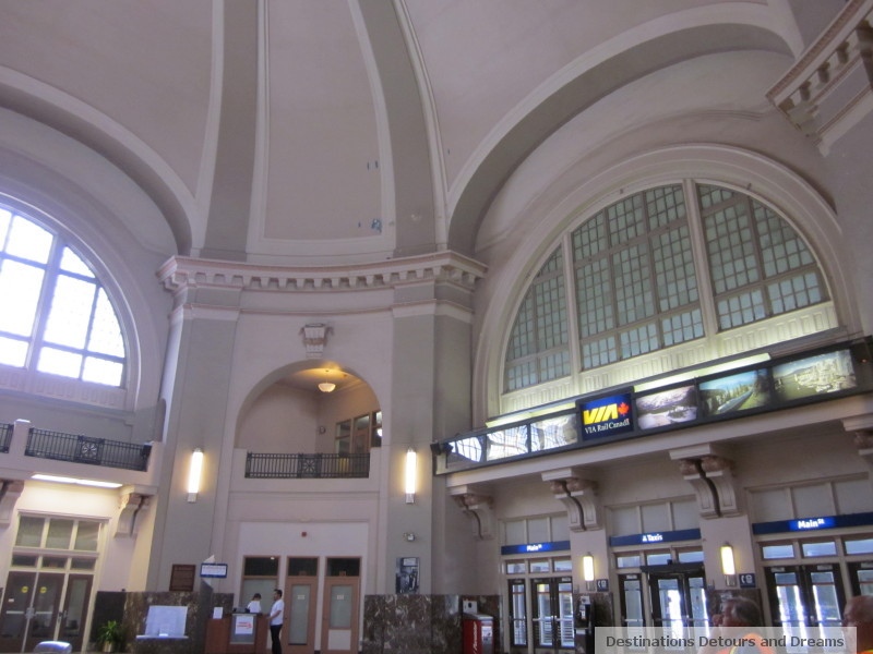 Union Station in Winnipeg, Manitoba
