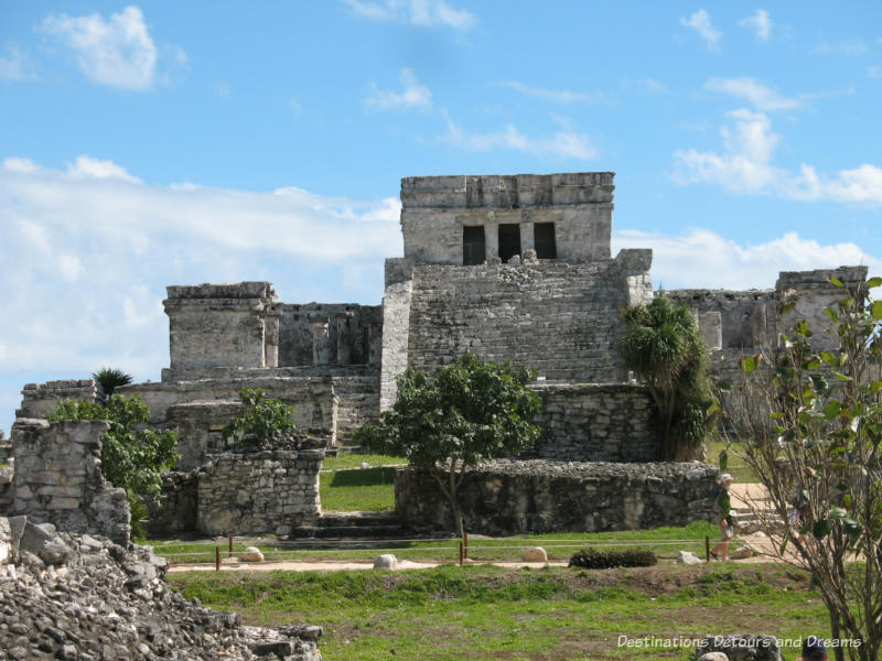 El Castillo at Tulum Mayan ruins, Mexico