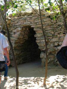 Entrance to Tulum Mayan Ruins, Mexico