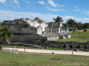 Palace at Tulum, Mayan Ruins in Mexico
