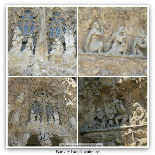 Nativty Facade sculptures