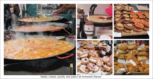 Portobello Market food