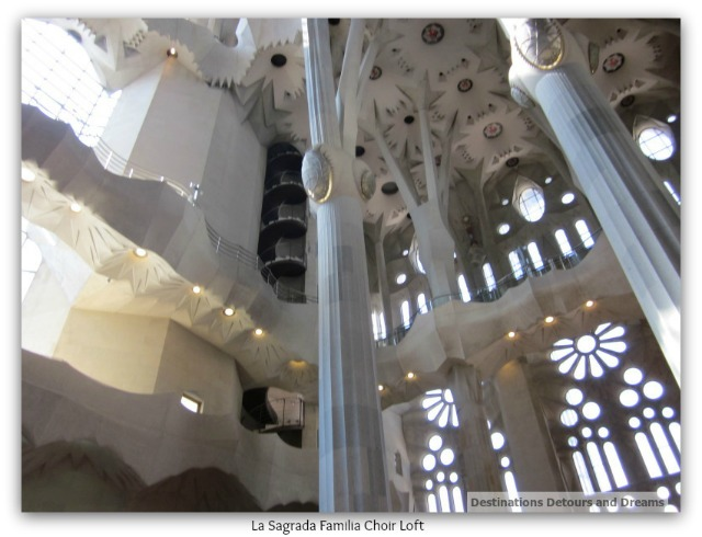 La Sagrada Familia choir loft