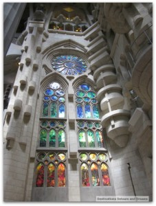 La Sagrada Familia window