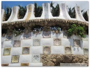 Park Guell tile work