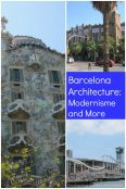 Barcelona Architecture: Modernisme and More