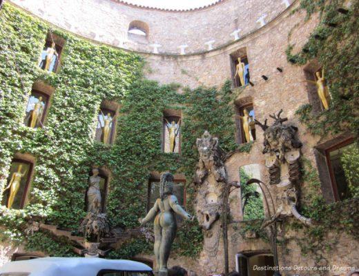 Dali Theatre-Museum atrium, Figueres Spain