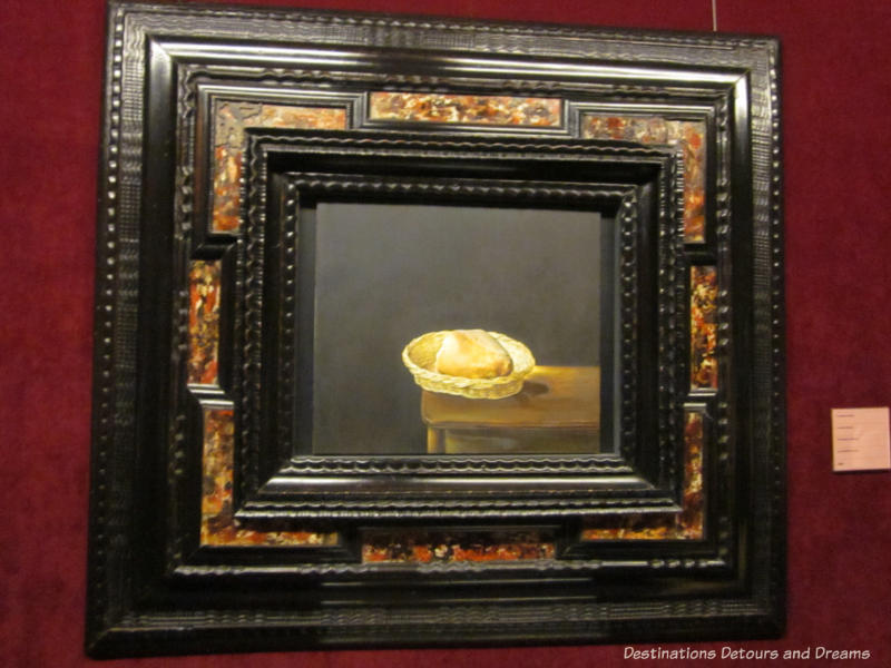 Dali painting of bread at Dali Theatre-Museum