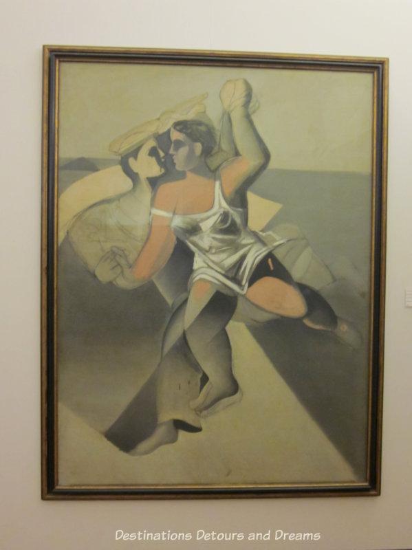 Dali painting at Dali Theatre-Museum