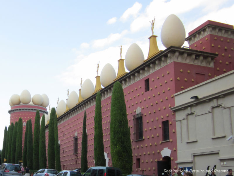 Dali Theatre-Museum in Figueres Spain