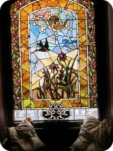Dalnavert stained glass window