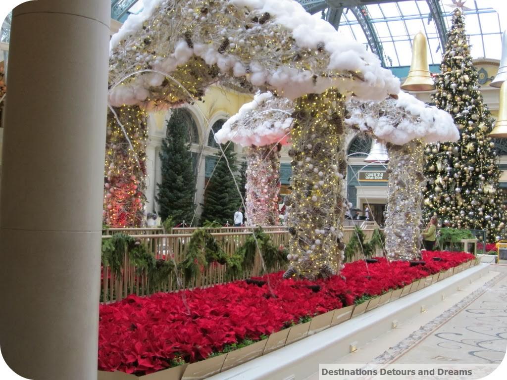 Bellagio gardens Christmas