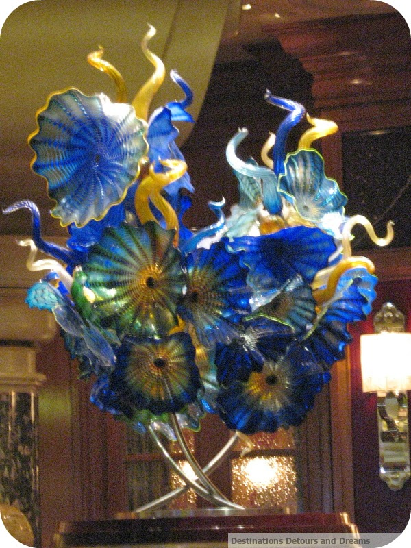 Chihuly art in the Bellagio