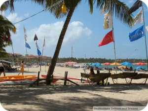 Cabarete beach on a Sunday
