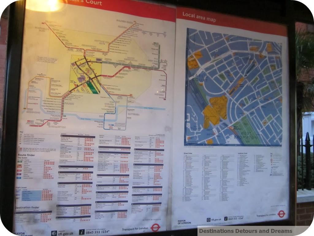 London Transport map
