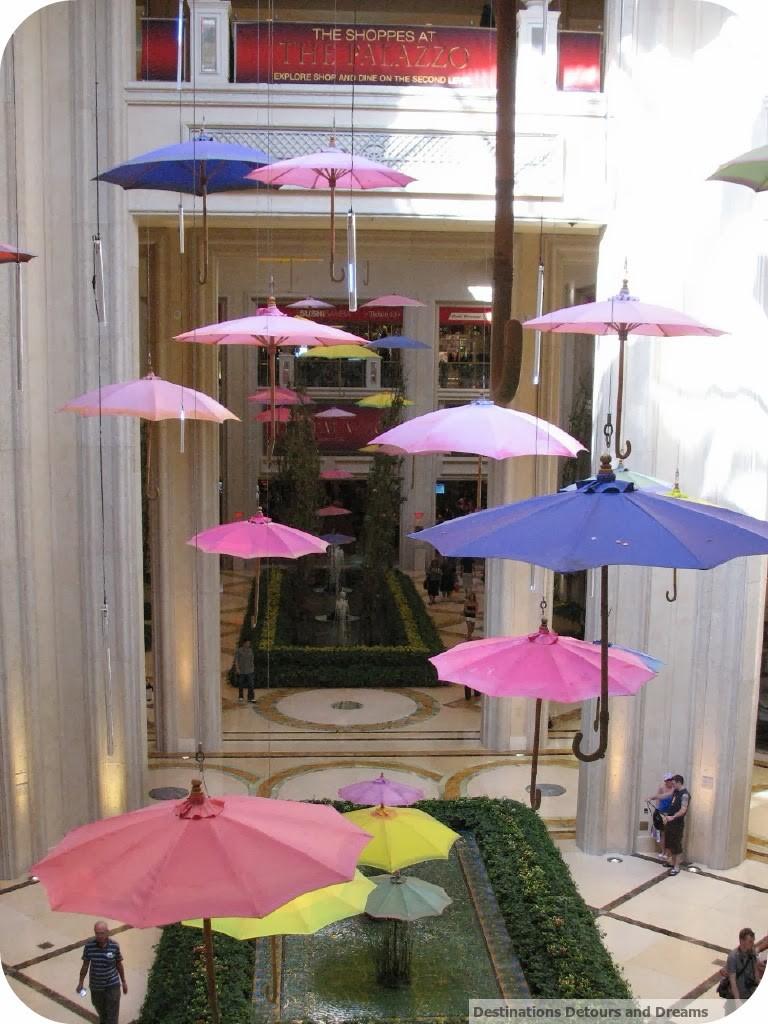 Umbrellas at Palazzo