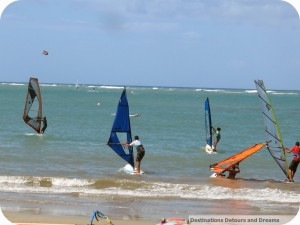 Windsurf race in Cabarete