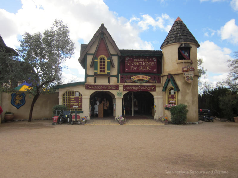 Costume rental at Arizona Renaissance Festival
