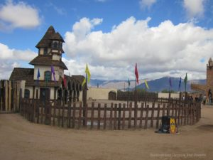 Jousting arena at Arizona Renaissance Festival